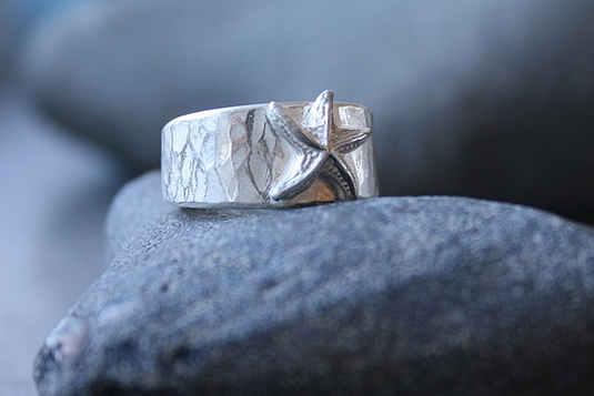 """Ring """"Meeresgrund"""""""