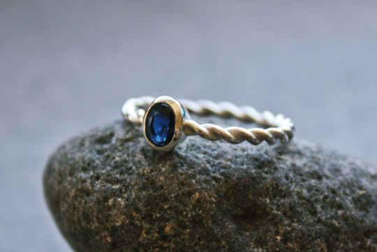 Safir-Ring