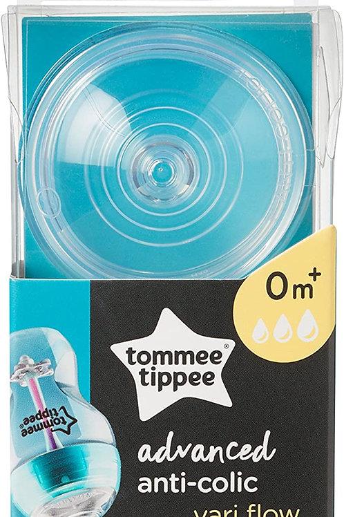 Tommee Tippee – Tétine anti-colique à débit variable- Nouveau-né