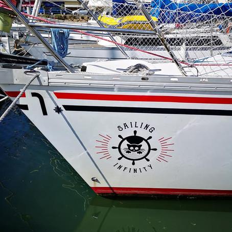 Sailing Infinity : récit d'un voyage en voilier autour du monde