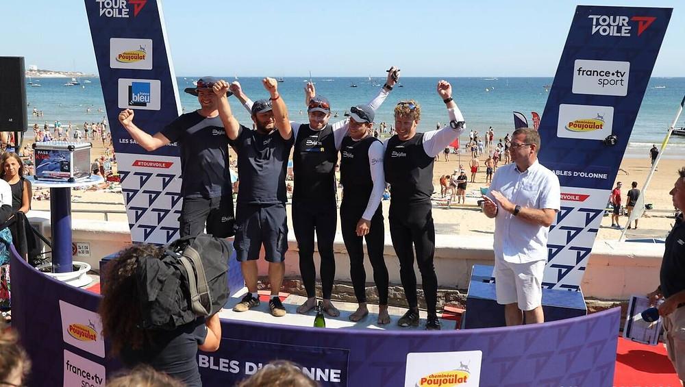 team beijaflor gagnante tour voile 2019