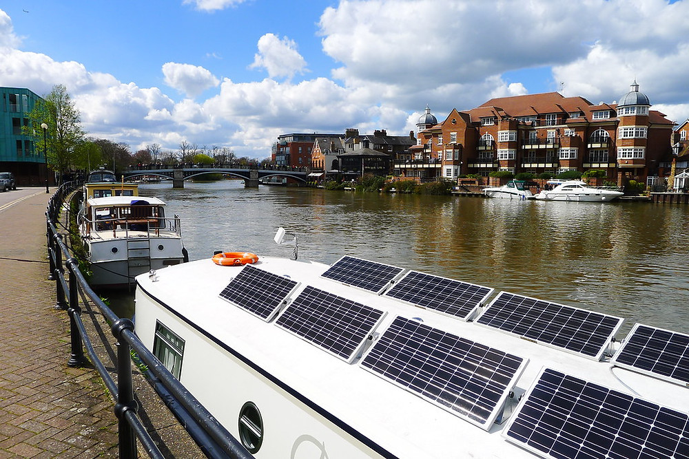 panneaux solaires rigides bateau