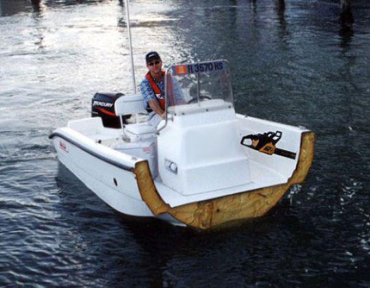bateau moteur insubmersible