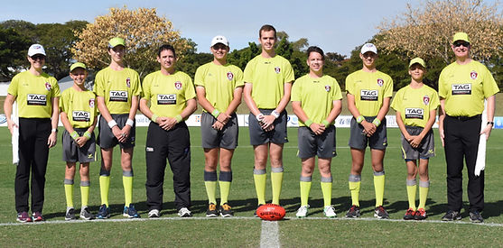 AFLTUA Senior Grand Final Umpire Team 2017