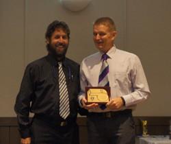 Award Thanks Coach