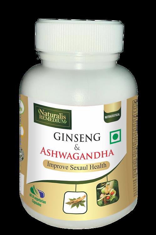 Naturalis Remedium Ginseng & Ashwagandha 60 Capsules