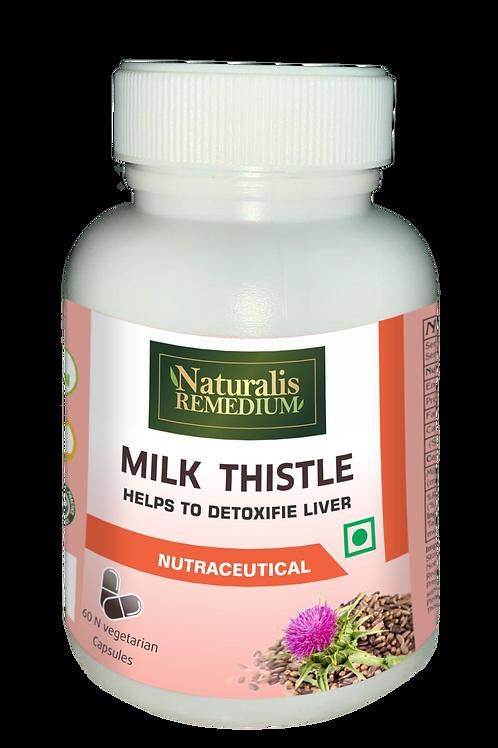 Naturalis Remedium Milk Thistle 500 mg 60 Capsules