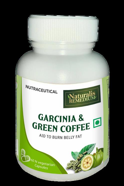 Naturalis Remedium Garcinia & Green Coffee 500 mg 60 Capsules