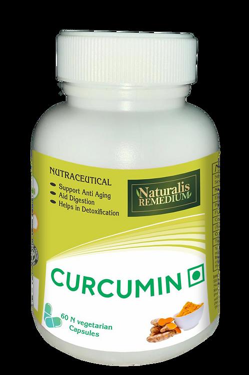Naturalis Remedium Curcumin 500 mg 60 Capsules