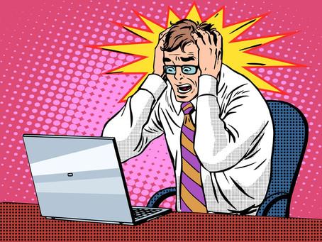 Help, my website isn't working!