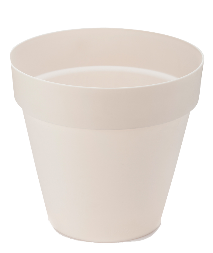 Classic Round White Pot