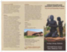 Pre-doctoral internship brochure cover