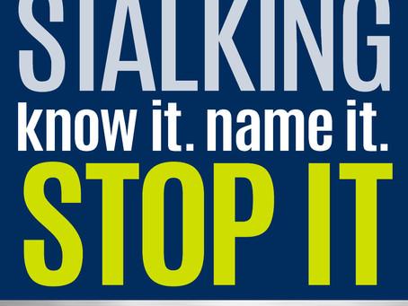 Stalking is Far from Talking