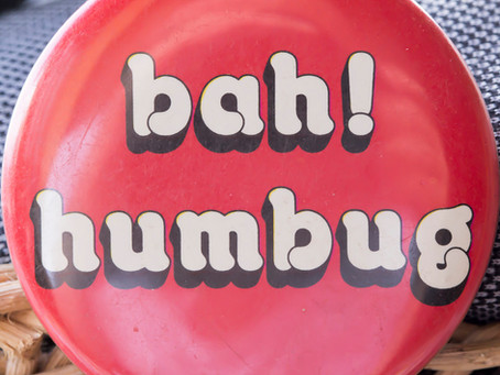 Bah Humbug or Happy Holidays