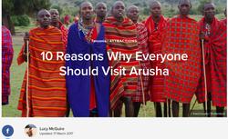 Reasons to visit Arusha