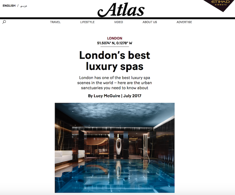 London's Best Luxury Spas