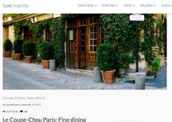 Le Coupe-Chou Parisien Fine Dining