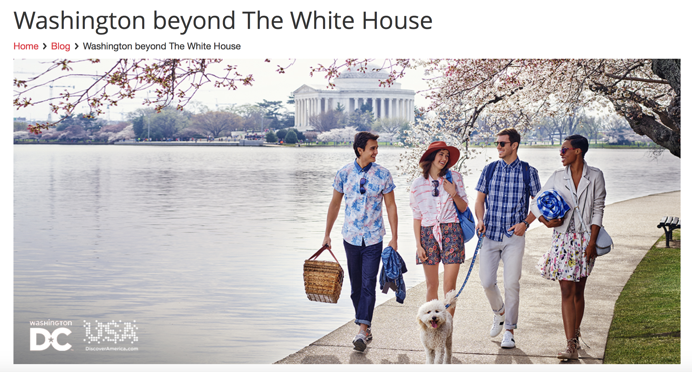 Washington Beyond the Whitehouse