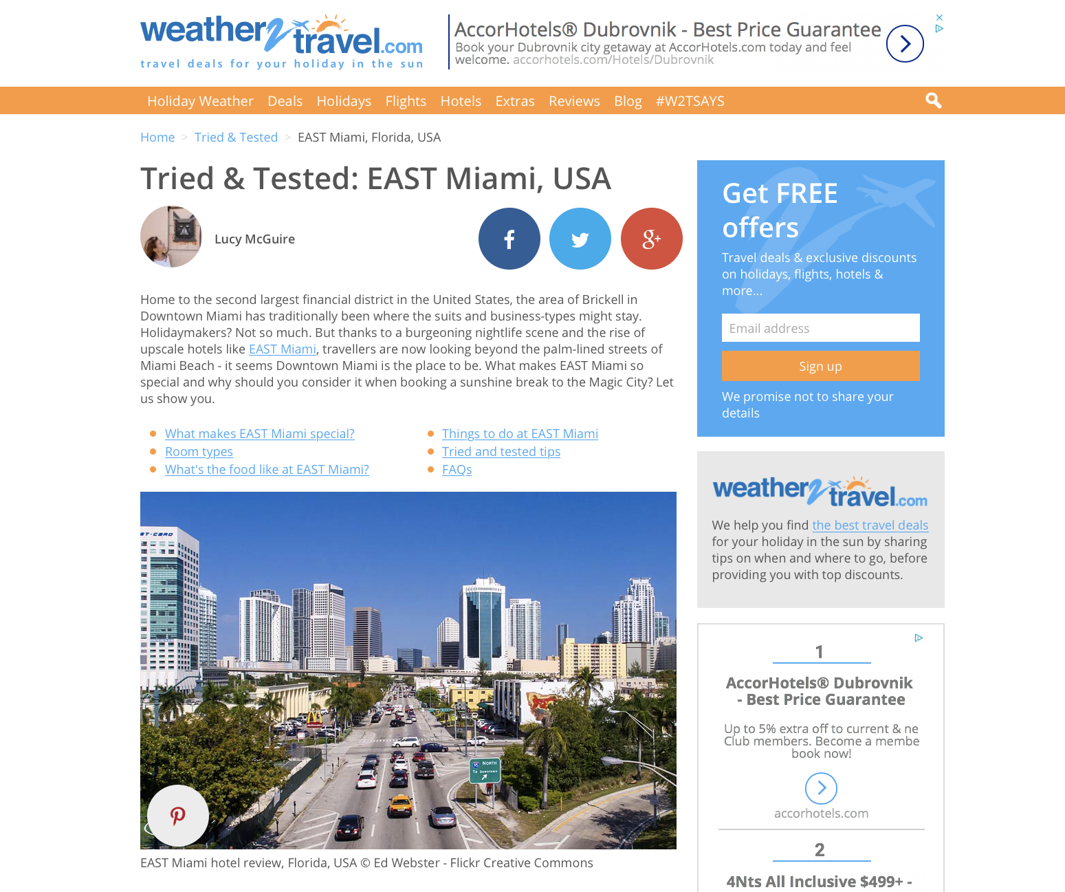 Hotel review, EAST Miami