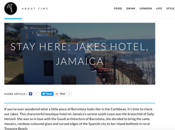 Jakes Hotel review About Time magazine