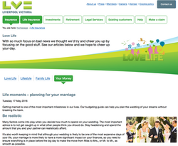 wedding planning for LV.com