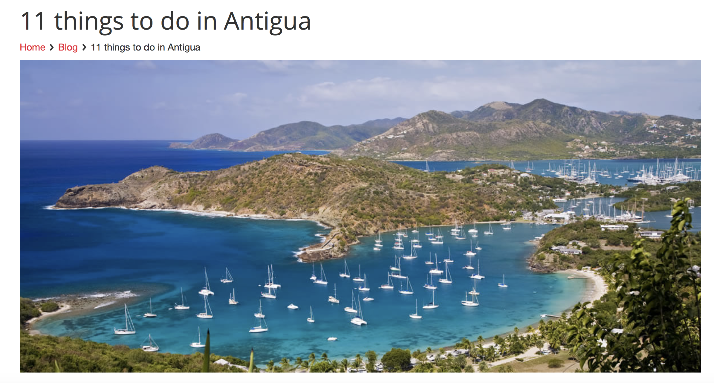 11 Things to do in Antigua
