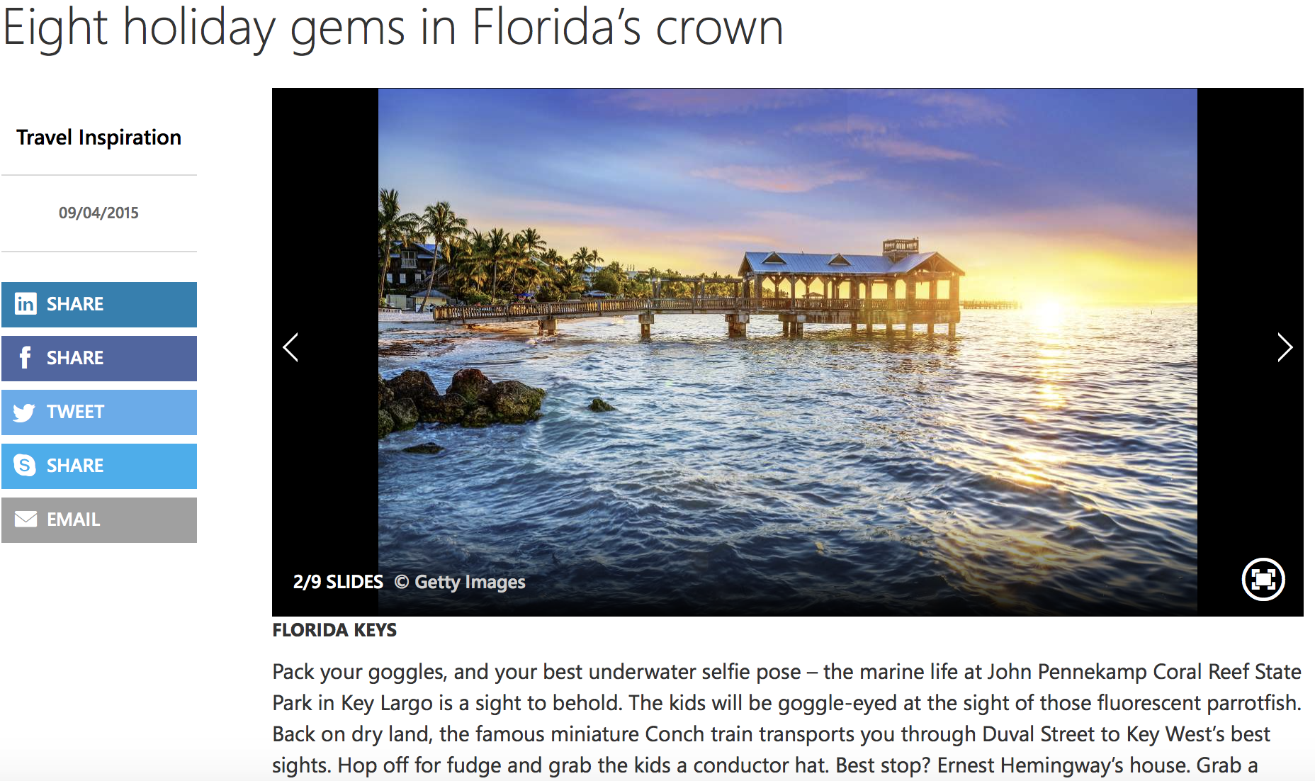 8 Florida gems with Virgin Holidays