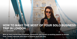 Solo Business Travel in London