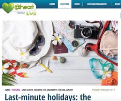 Last-minute holidays