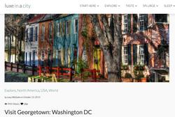 Visit Georgetown Washington DC