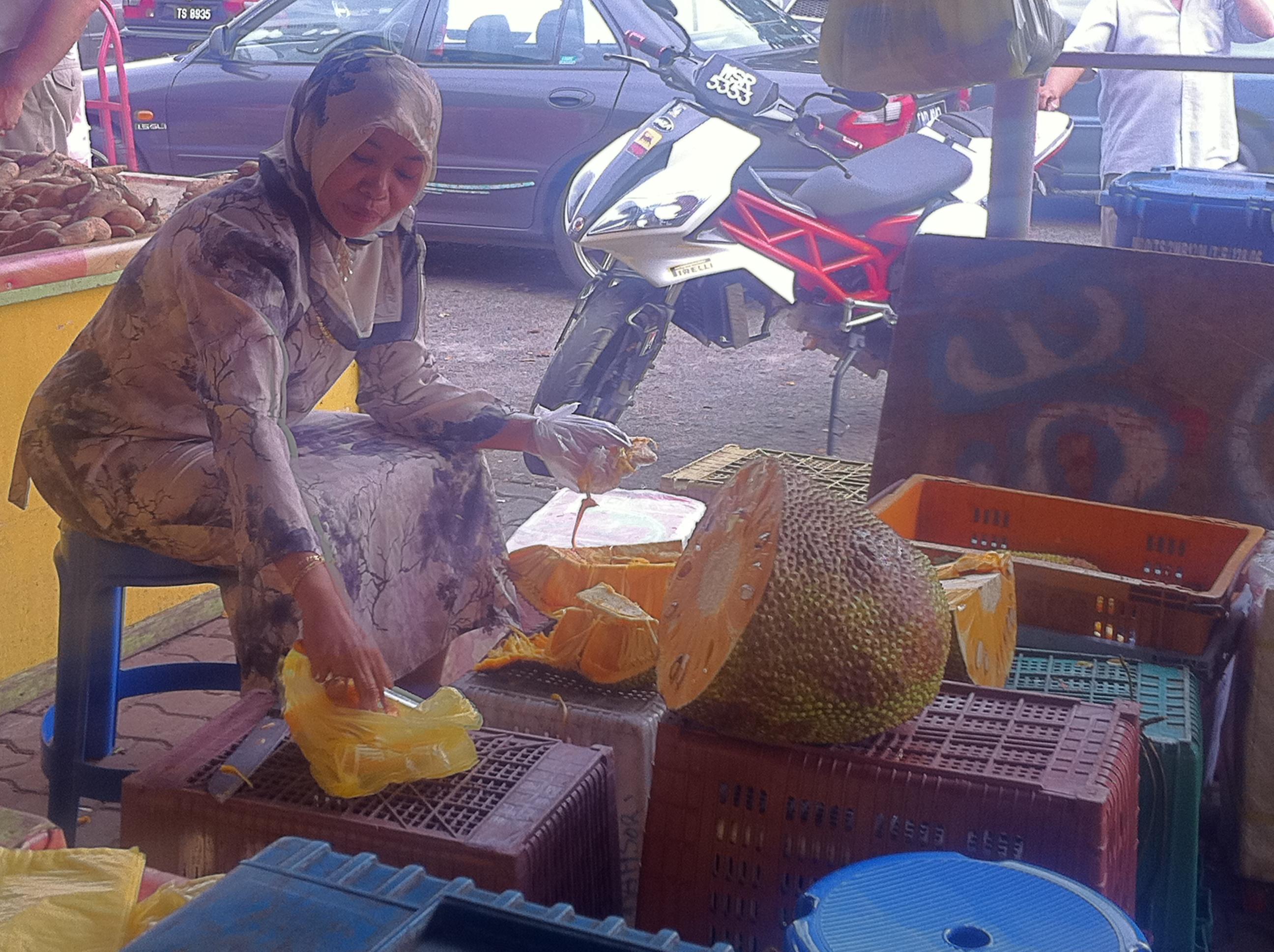 Dungun market