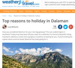 Reasons to holiday in Dalaman