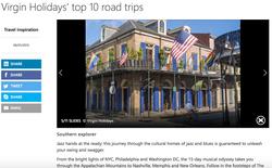 MSN Top 10 Road Trips