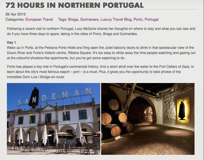 72 Hours in Northern Portugal