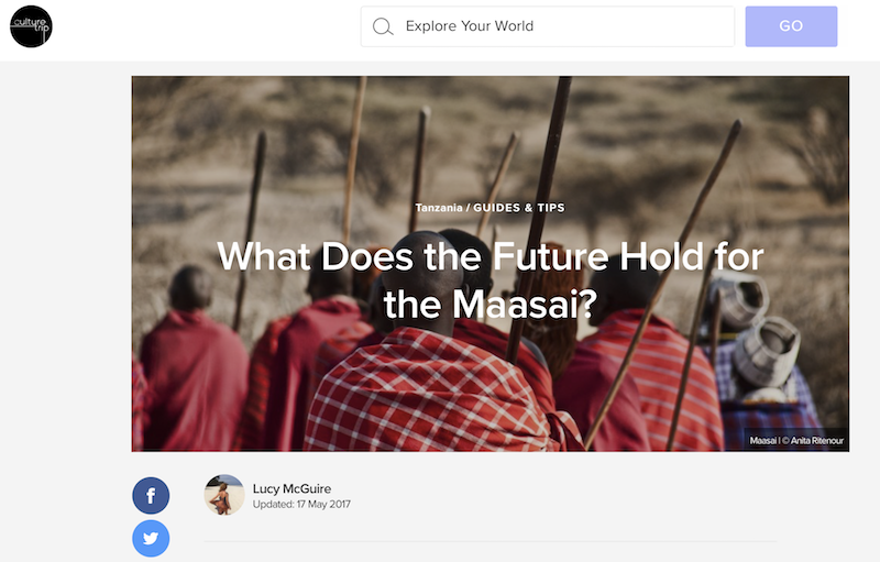 The future of the Maasai