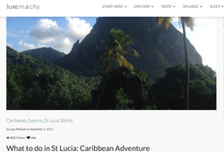 What to do in St Lucia Caribbean Adventure