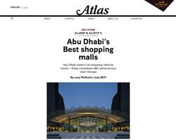 Abu Dhabi's Best shopping malls