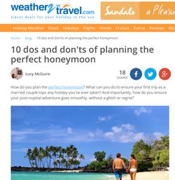 10 honeymoon planning tips