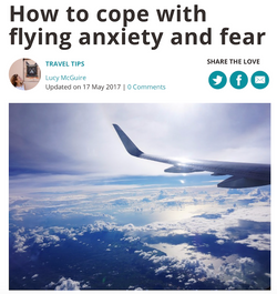 Coping with flying anxiety & fear
