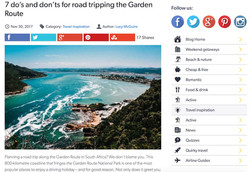 Road tripping the Garden Route