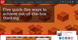 5 tips for out-of-the-box thinking
