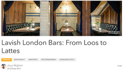 London Bars from Loos to Lattes