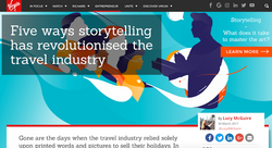 Storytelling and the travel industry