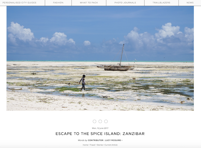 Escape to the Spice Island: Zanzibar