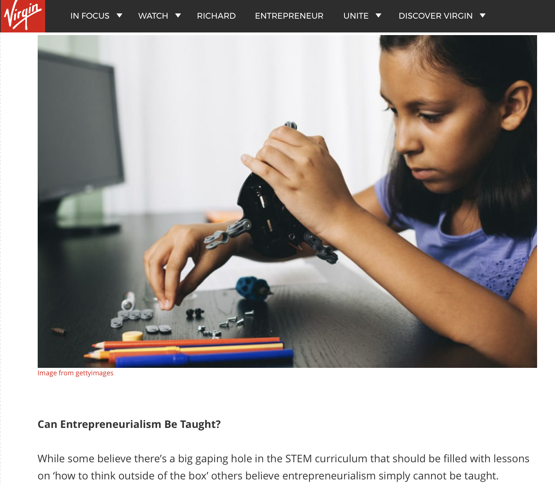 Can Stem Education make entrepreneurs