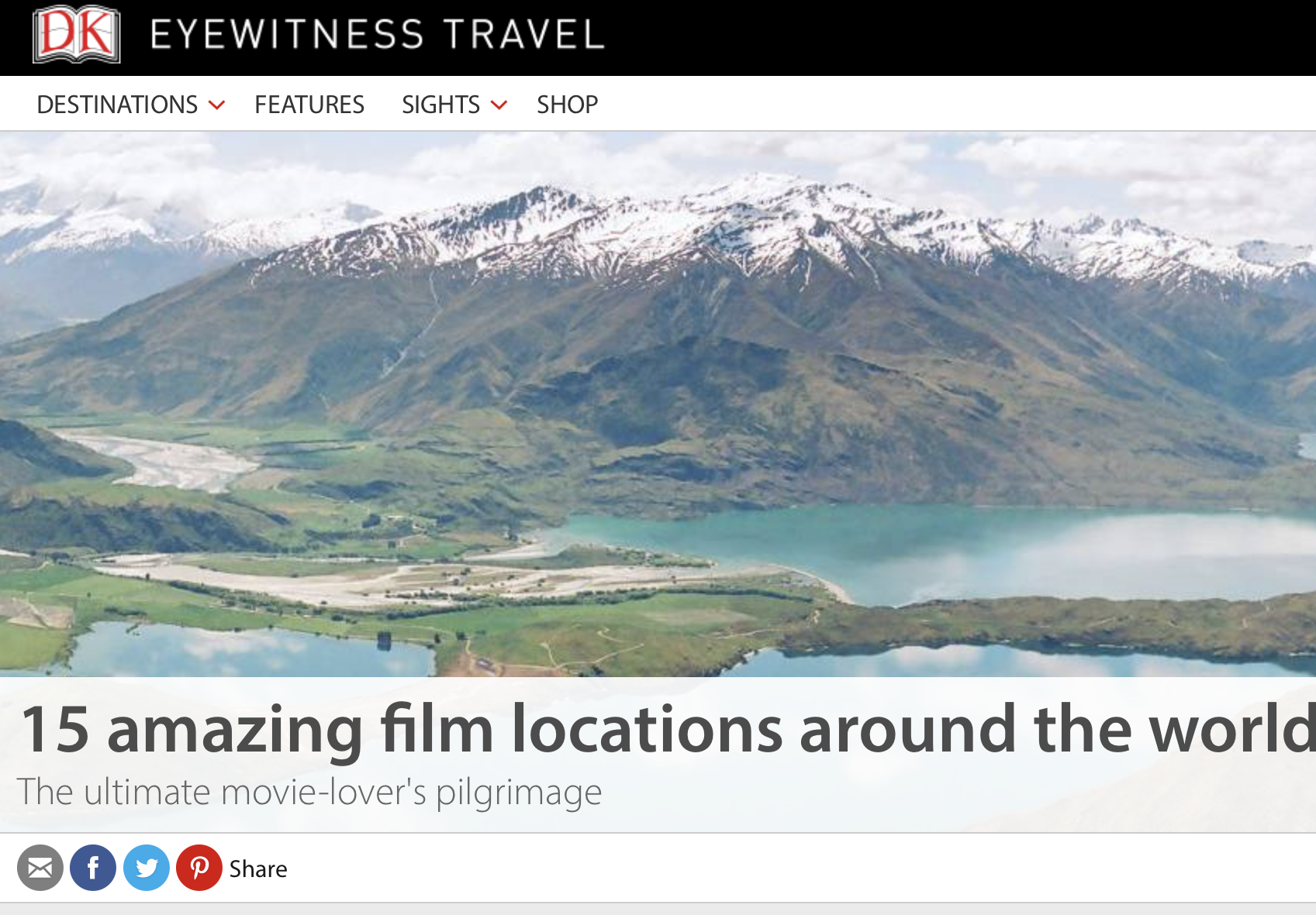 15 Amazing Film Locations