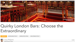 Quirky Bars in London