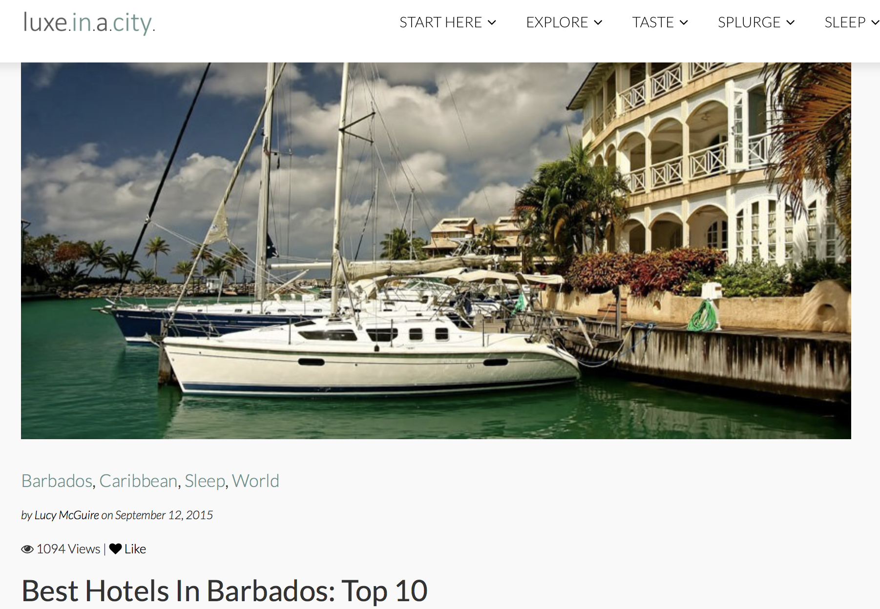 Best Hotels in Barbados Top 10