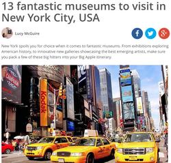 Top NYC Museums