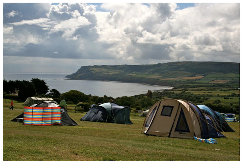 6 Coastal campsites for